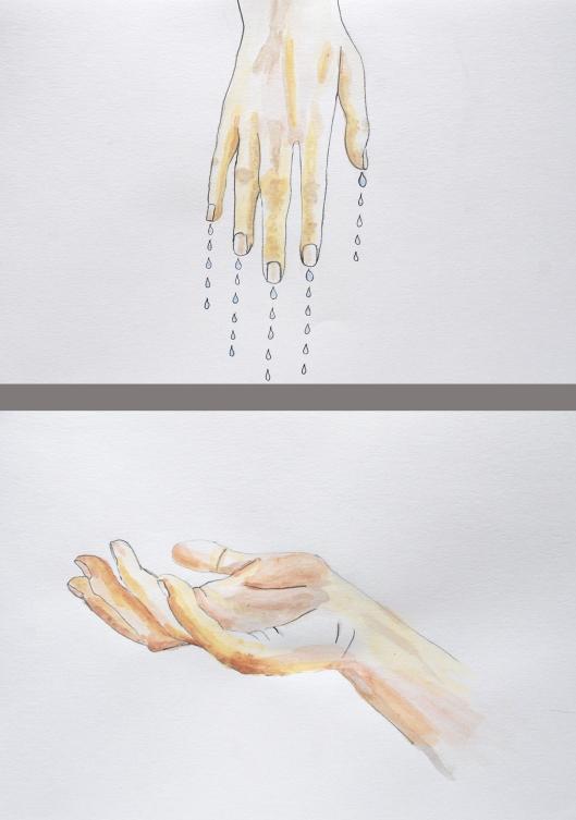 hånd I og II